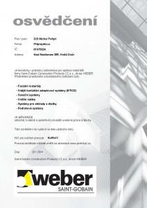 CertificateFoltýn