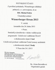 wienerberger fgorum 2013